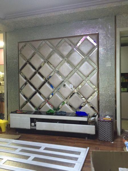 Mosaic Glass Diamond Tiles
