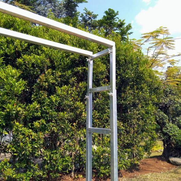 Sturdy Double Rectangular Backdrop 3x3m