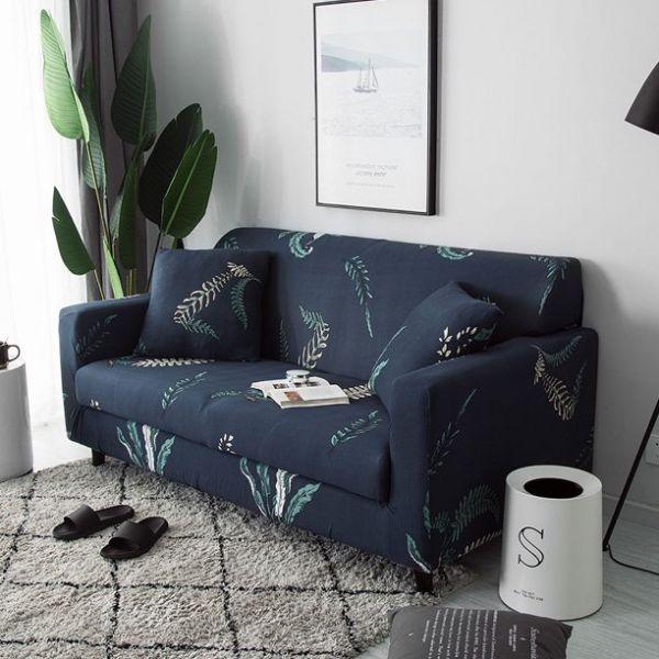 Sofa Cover - Tropical Leaf