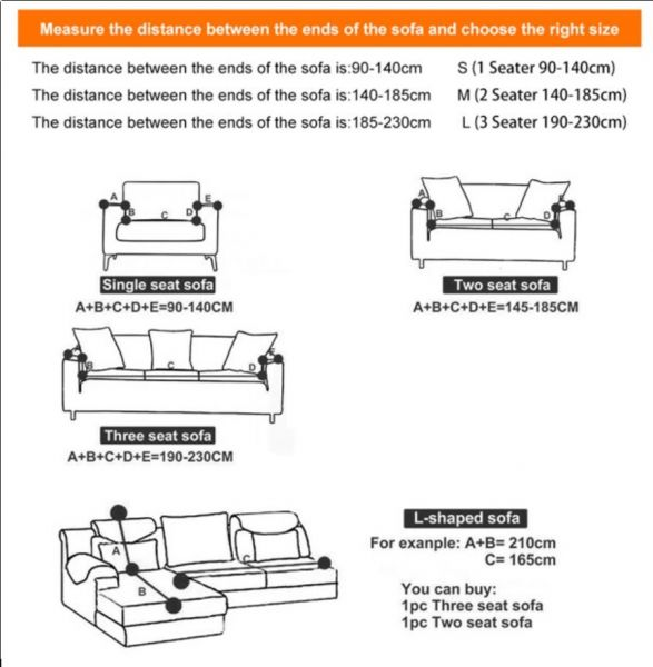 Sofa Cover - Monstera Leaf